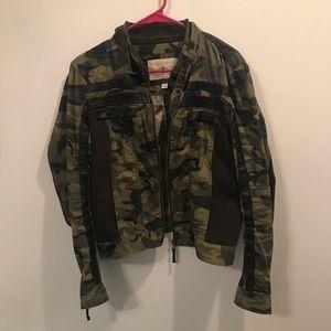 Sugarfly camo military jacket